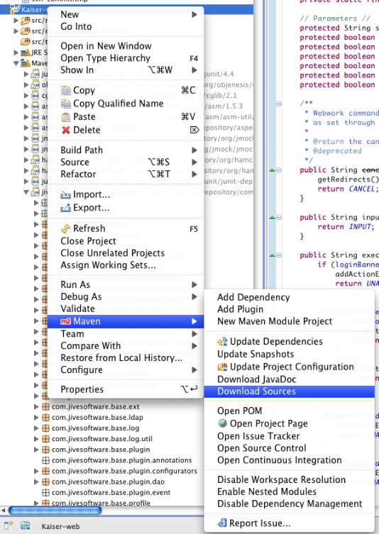 Maven: Using with Eclipse